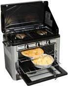 Outdoor Double Burner Propane Gas Range And Stove Cooking Grilling Camp Chef
