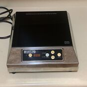 Heartland 5000 Commercial Countertop Induction Range Cooker 120 Volts 1500w