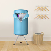 Portable Ventless Laundry Clothes Dryer Folding Drying Machine Heater