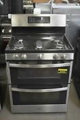 Ge Jgb860sejss 30 Stainless Double Oven Gas Range 92005 Hrt