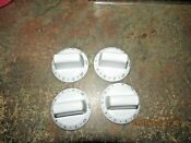 Kenmore Electric Range Burner Knobs Complete Set Of Four See Photo S