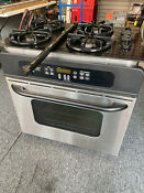 Ge Stainless Steel Drop In Wall Single Oven Jtp20s0f2ss
