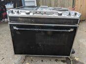 Vintage Jenn Air 4 Burner Electric Downdraft Drop In Oven Range Stove 30