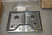 Whirlpool Wcg51us0ds 30 Stainless 4 Burner Gas Cooktop Nob 28463 Mad