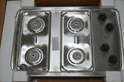 Whirlpool W3cg3014xs 30 Stainless 4 Burner Gas Cooktop Nob 29122 Mad