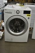 Lg Wm3500cw 27 White Front Load Washer Nob 102549