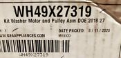 Wh49x27319 Used Ge Washer Dryer Combo Motor And Pulley Asm