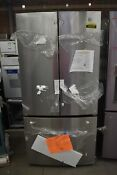 Ge Gwe19jslkfss 33 Stainless Cd French Door Refrigerator Nob 103250