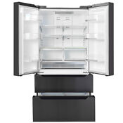 Smad 22 5 Cu Ft Counter Depth 4 Door French Door Refrigerator Fridge Freezer