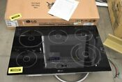 Lg Lce3010sb 30 Black Smoothtop Electric Cooktop Nob 103642