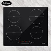 Iseasy 23 Built In Induction Cooker 4 Burners Electric Cooktop Touch Control