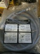 Washing Machine Hot Cold Labeled 4 Water Supply Hoses Set Of 2 Washer