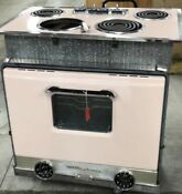 Pink Westinghouse Stove And Oven