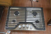 Whirlpool Wcg51us0ds 30 Stainless 4 Burner Gas Cooktop Nob 28347 Mad