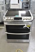 Lg Lte4815st 30 Stainless Slide In Double Oven Electric Range 110242