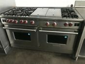 Wolf 60 Pro Style Gas Range 6 Burnersw Charbroiler Griddle