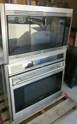 Wolf So30f S 30 Wall Oven Wolf Mw24 Microwave Oven With Trim Kit