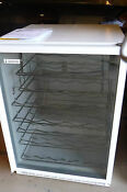Marvel Luxury Series 61wc 24 6 1cu Ft White Rare Standalone Wine Refrigerator