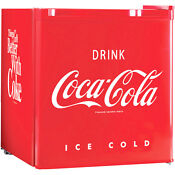 Compact Retro Coca Cola Fridge Internal Freezer Mini Coke Office Refrigerator