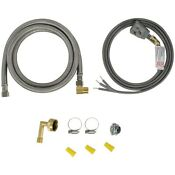 Certified Appliance Dishwasher Installation Kit With Right Angle Plug Head