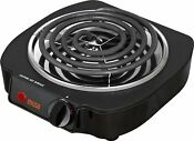 Electric Single Burner Hot Plate Stove Travel Mobile Cooking Countertop Portable