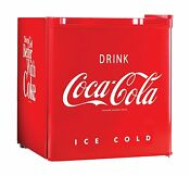 Mini Fridge Coca Cola Series Compact Refrigerator Cooler Machine Freezer Retro