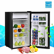 Single Door Refrigerator Small Freezer Cooler Fridge Compact 3 2 Cu Ft Unit