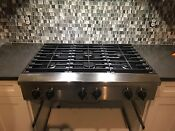 Kitchenaid Kgcp467 Stainless Steel 36 In Gas Gas Cooktop