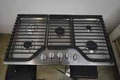 Whirlpool Wcg97us6ds 36 Stainless 5 Burner Gas Cooktop 1321