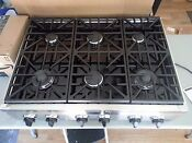 Dacor Distinctive Series 36 6 Burner Stainless Steel Natural Gas Range Top