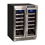 Edgestar Cwr361fd 24 Inch Wide 36 Bottle Built In Wine Cooler With Dual Cooling