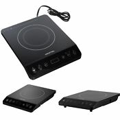 New 1800w Portable Induction Cooktop Countertop Cooker Stove Touch Control Timer