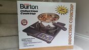 New Burton Portable Electric Induction Cooktop