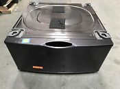 Samsung We357a0p Xaa Washer Dryer Laundry 27 Pedestal With Storage Drawer Gray