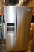 Kitchenaid Krsc500ess 36 Stainless Side By Side Refrigerator Nob Rsl