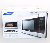 Samsung Mg11h2020ct 1 1 Cu Ft 1000w Countertop Powergrill Microwave Oven Ob W18
