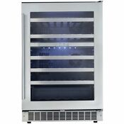Silhouette Professional 51 Bottle Built In Dual Zone Wine Cooler
