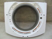 Kenmore He3t Washing Machine Washer Rubber Boot White Metal Front Panel