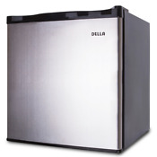 Small Upright Freezer Home Kitchen Stainless Steel Portable Refrigerator Rooms