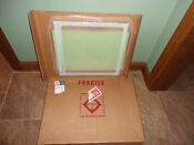 New Whirlpool Refrigerator Glass Shelf In Frame Part 1124551 More Part S Below