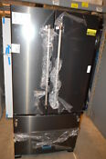 Kitchenaid Krff302ebs 33 Black Stainless French Door Refrigerator Nob 19430