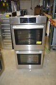 Bosch Hbn8651uc 27 Stainless Double Electric Wall Oven Nob 19550