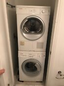 Bosch Axxis Stackable Washer Dryer Set Excellent Used Condition