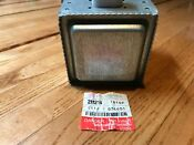 Ge Microwave Oven Magnetron With Hardware Part Wb27x10927 Tested Clean