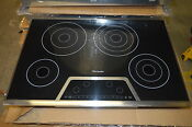 Thermador Cet304fs 30 Stainless Black Smoothtop Electric Cooktop 5979 Clnt