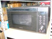 Samsung Mc11k7035cg Black Stainless Steel Convection Microwave Oven 1 1 Cu Ft C1