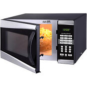 Digital Microwave Kitchen Appliances Cooking Safe Stainless Steel 0 9 Cu Ft 900w