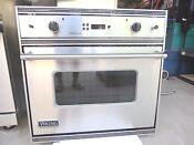 Viking Professional Series Veso107css 30 Wall Oven