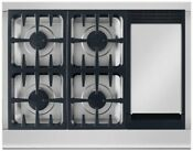 Dcs Cpv364gdn 36 Stainless Pro Style Gas Rangetop W Griddle Nib 7710