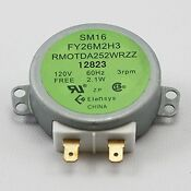 Microwave Oven Replacement Parts Rmotda252wrzz Turntable Motor